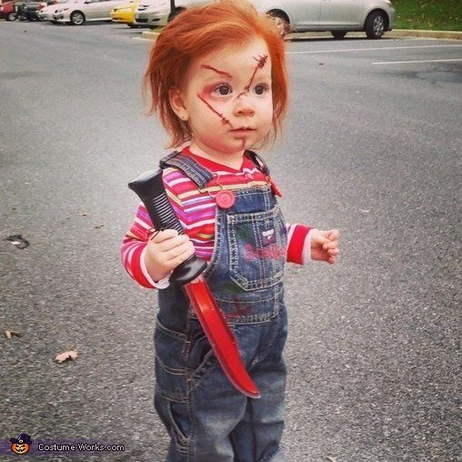 "<a href=""http://www.costume-works.com/costumes_for_babies/chucky48.html"">via Costume Works</a>"