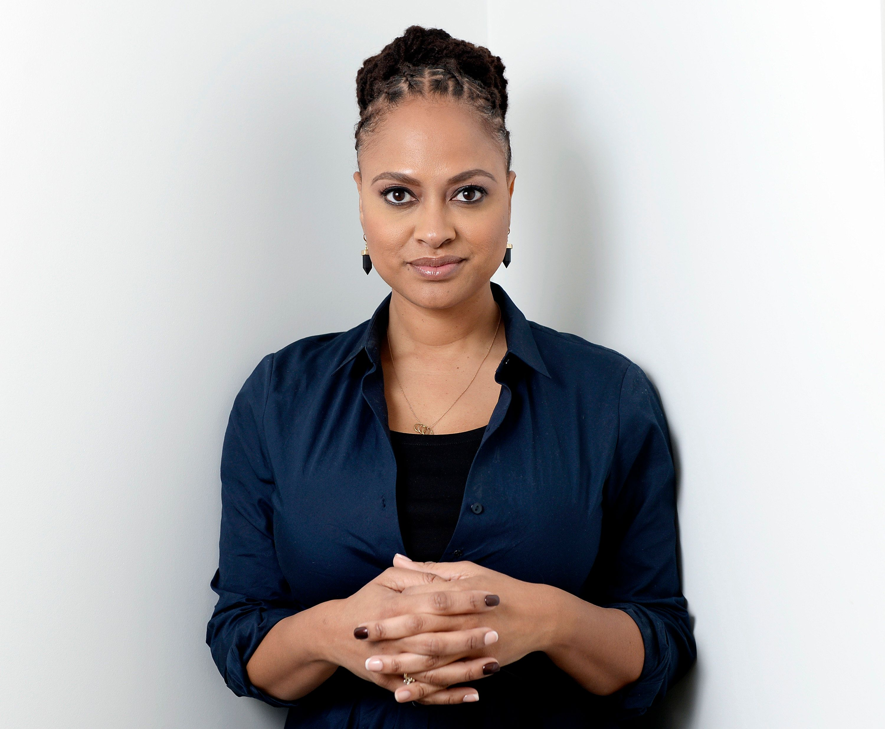 """Ava DuVernay, director of the film """"Selma,"""" poses in Los Angeles, California, December 23, 2014. The last film DuVernay directed cost $200,000, while her new movie """"Selma"""" was 100 times that. It was a big step up for the former Hollywood publicist, one that has reaped recognition even before the awards season takes off at the Golden Globes on January 11, 2015. Picture taken December 23, 2014. . REUTERS/Kevork Djansezian  (UNITED STATES - Tags: ENTERTAINMENT PORTRAIT) - RTR4KB6E"""