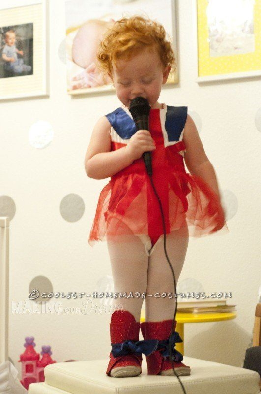 "<a href=""http://ideas.coolest-homemade-costumes.com/2014/11/01/cute-ginger-spice-toddler-costume/"">via Coolest Handmade Costu"