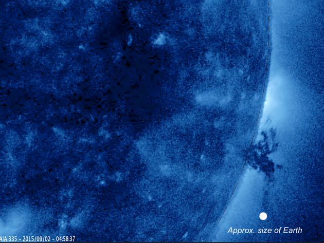 sun tornado captured by nasa - photo #23