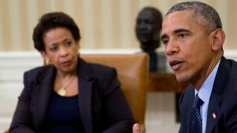 <p>Attorney General Loretta Lynch promises to go after future white-collar criminals.</p>