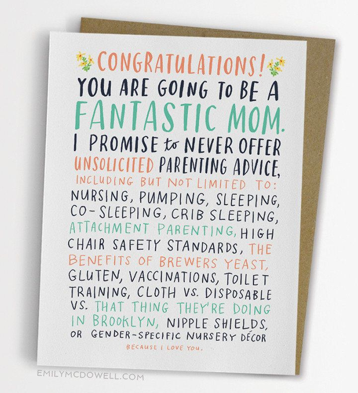 29 Honest Cards To Give Pregnant Mamas To Be Huffpost Life