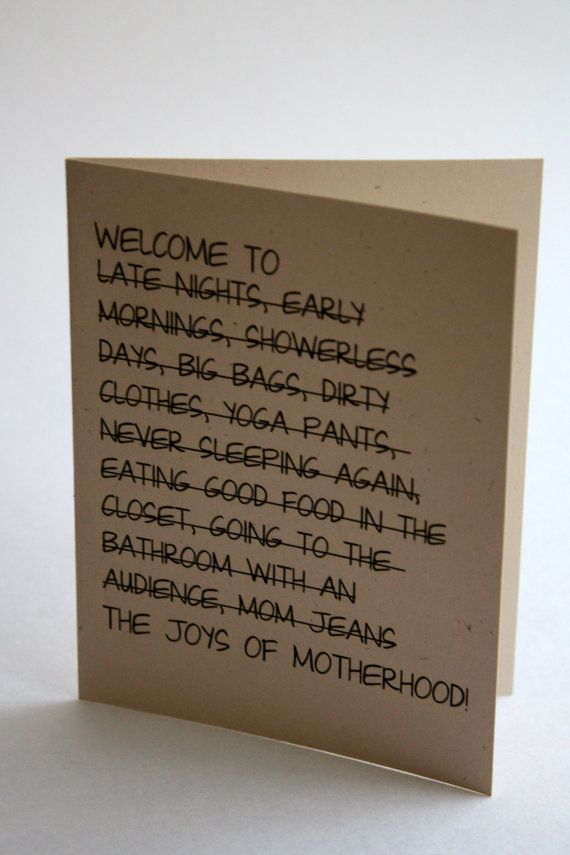 38 Honest Cards For New Parents With A Sense Of Humor Huffpost Life