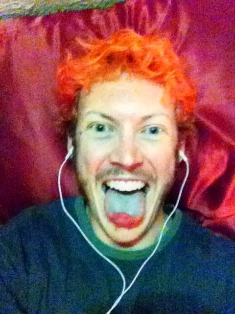 A selfie taken from James Holmes' iPhone.