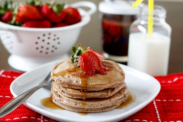 """<strong>Get the <a href=""""http://www.bellalimento.com/2011/05/27/nutella-pancakes/"""" target=""""_blank"""">Nutella Pancakes recipe</a"""