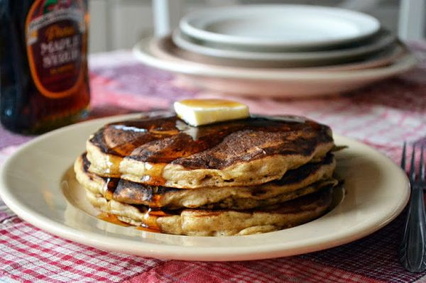 """<strong>Get the <a href=""""http://theviewfromgreatisland.com/2011/12/the-morning-after-gingerbread-pancakes.html"""" target=""""_blan"""