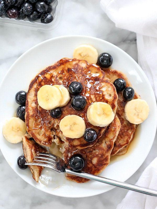 "<strong>Get the <a href=""http://www.foodiecrush.com/2015/01/best-banana-bread-pancakes/"" target=""_blank"">Banana Bread Pancake"
