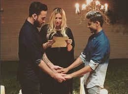 Kesha Officiated A Same-Sex Wedding And It Was Adorable
