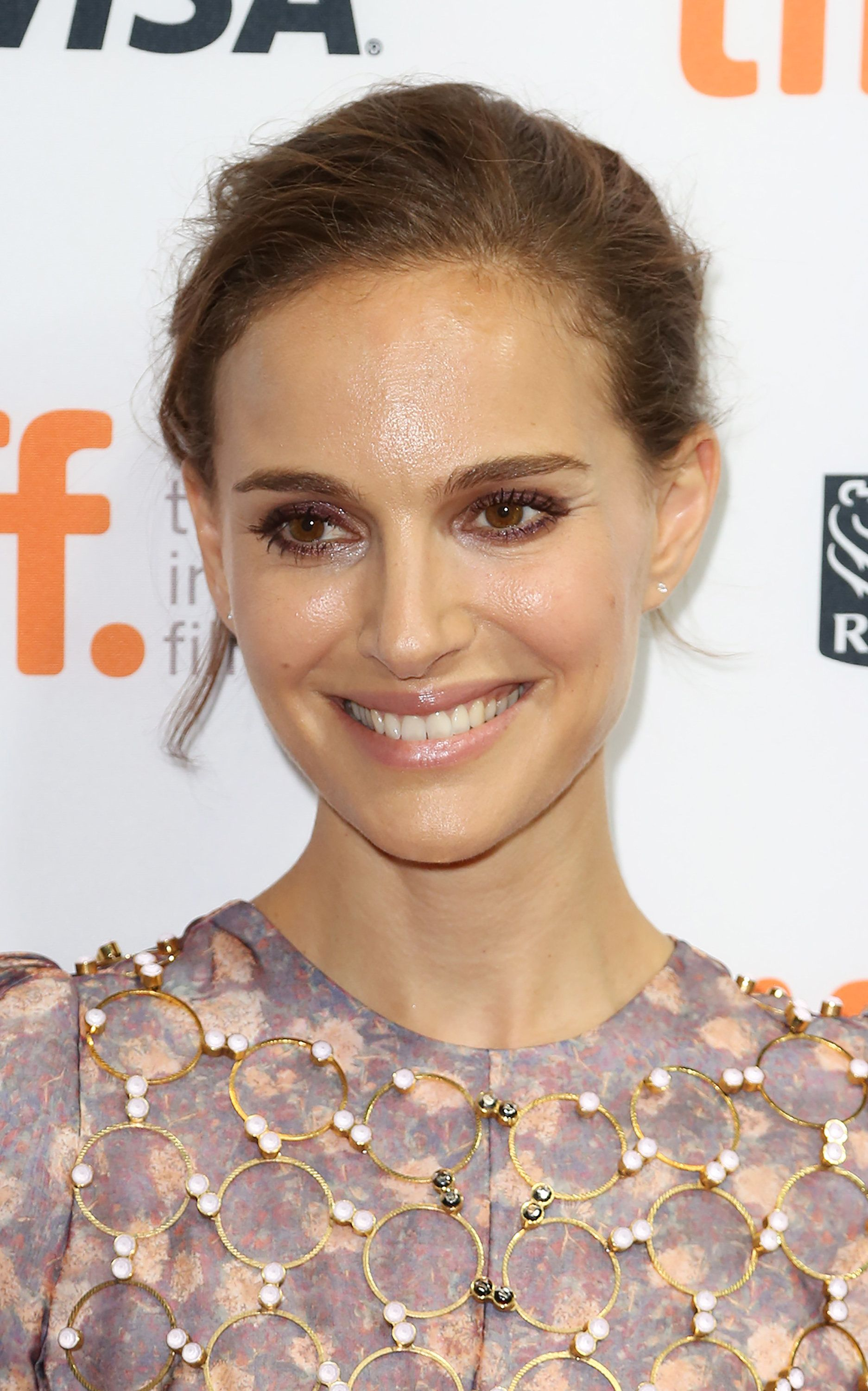 TORONTO, ON - SEPTEMBER 10:  Natalie Portman attends the 4th annual festival kick-off fundraising soiree during the 2015 Toronto International Film Festival at TIFF Bell Lightbox on September 9, 2015 in Toronto, Canada.  (Photo by Walter McBride/FilmMagic)