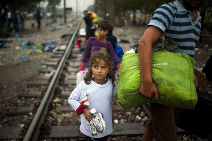 Nearly half a million people fleeing war, persecution and extreme poverty have reached Europe this year.