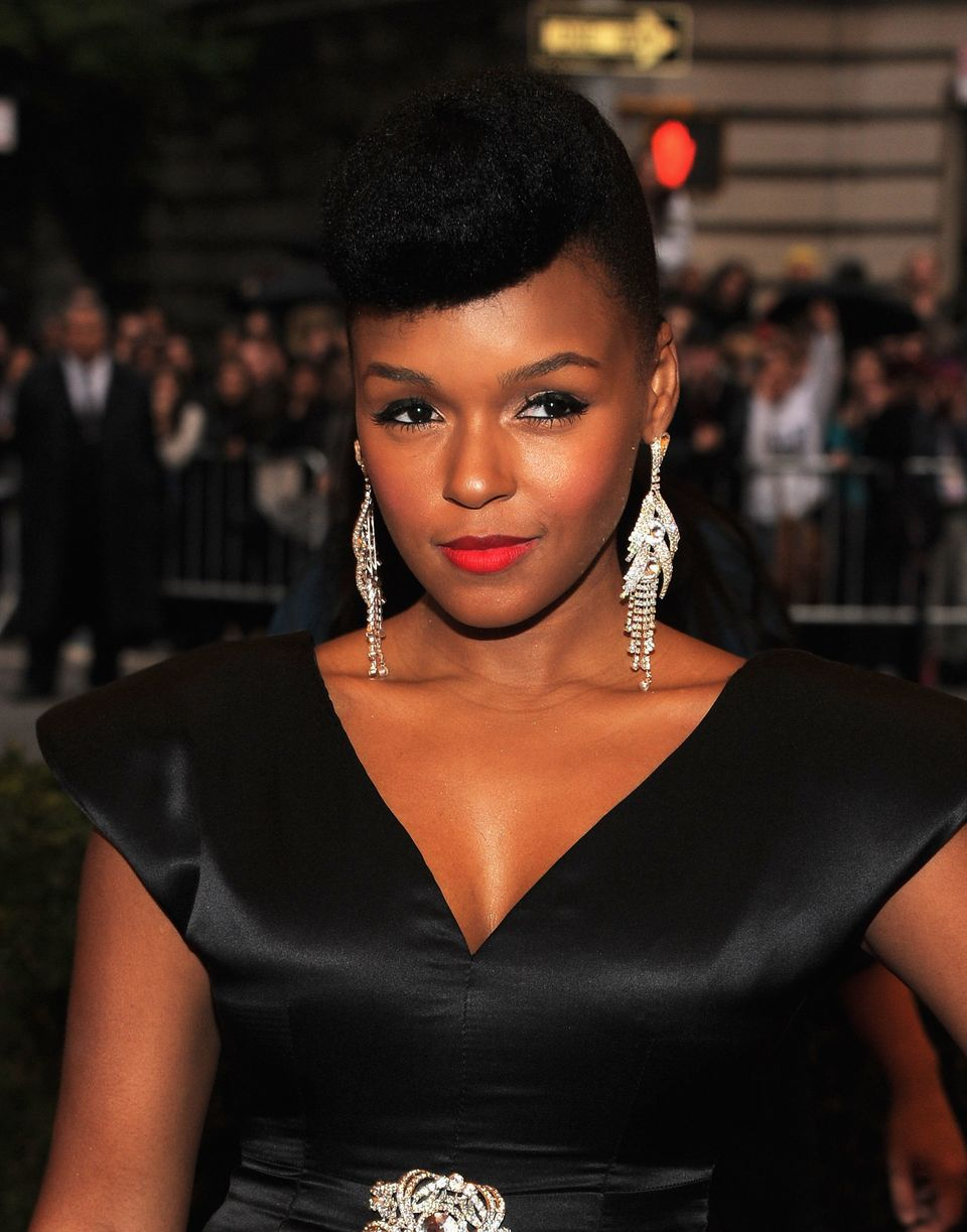 NEW YORK, NY - MAY 07:  Janelle Monae attends the 'Schiaparelli And Prada: Impossible Conversations' Costume Institute Gala a