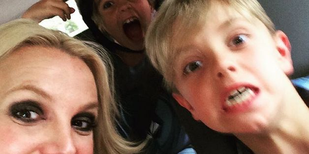 Britney Spears Shares Adorable Birthday Selfie With Her Boys