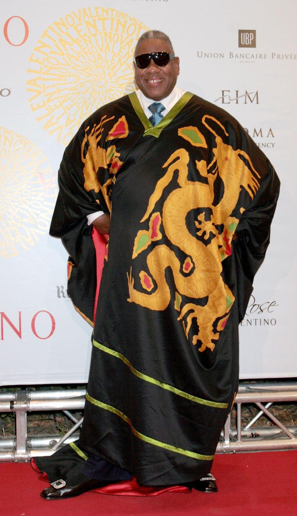 At Valentino's haute couture collection celebration in Rome.