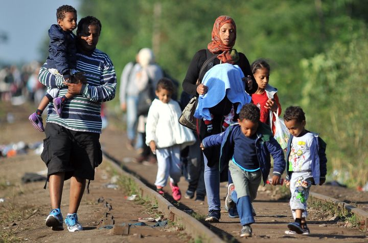 Hungary continued its pushback against the influx of refugees on Monday.