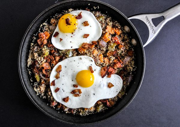 "<strong>Get the <a href=""http://www.howsweeteats.com/2012/08/quinoa-breakfast-skillet/"" target=""_blank"">Quinoa Breakfast Skil"