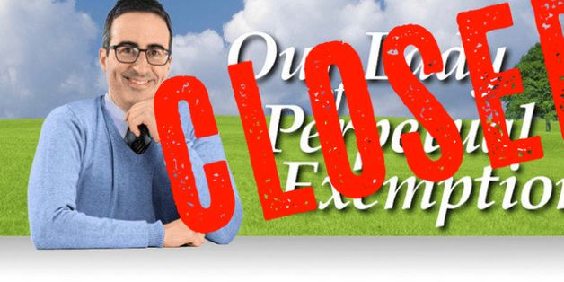 John Oliver Closes His TV Church After Unwanted 'Seed' Donations