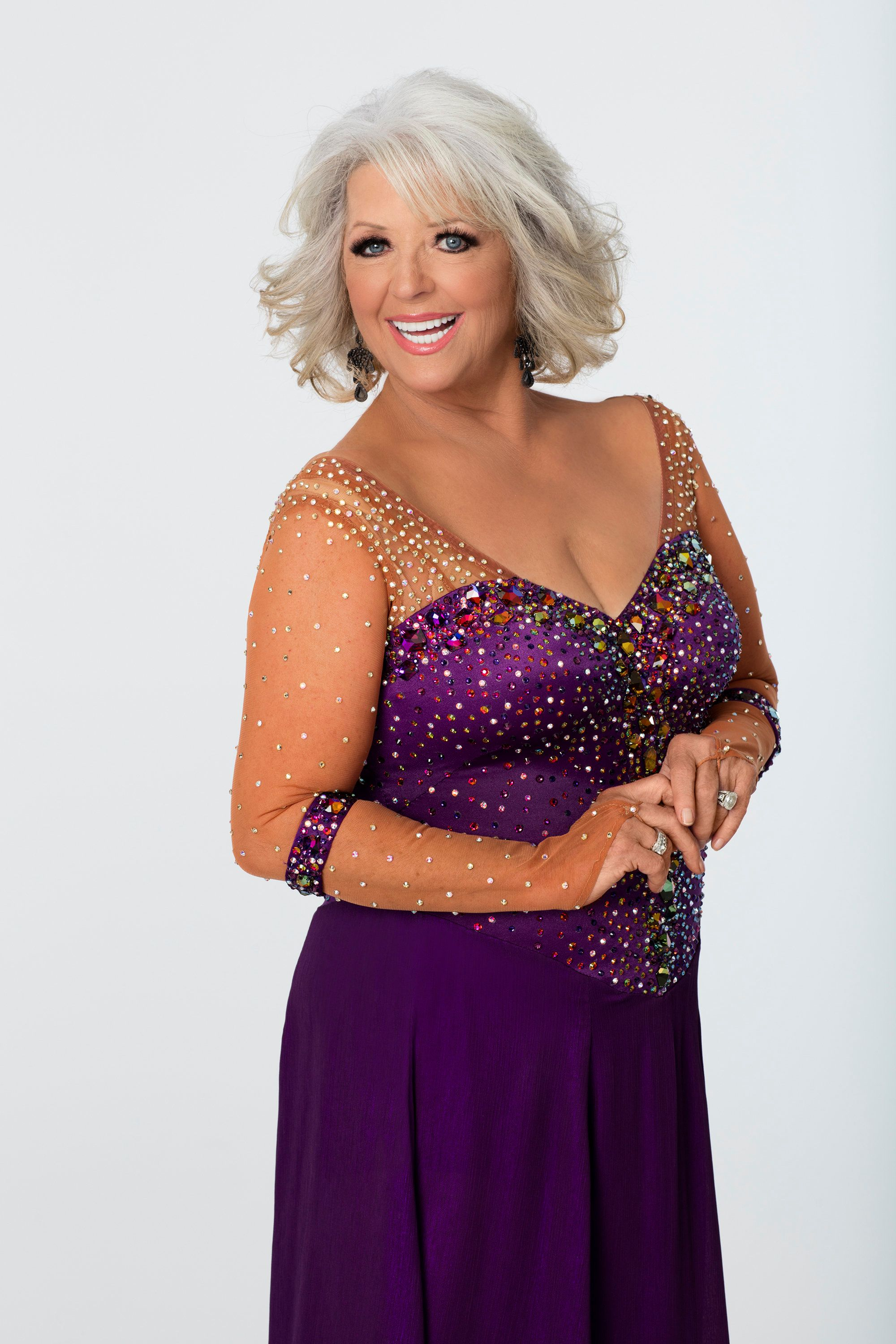 DANCING WITH THE STARS - PAULA DEEN - The celebrity cast of 'Dancing with the Stars' is lacing up their ballroom shoes and getting ready for their first dance on MONDAY, SEPTEMBER 14 (8:00-10:01 p.m., ET) on the ABC Television Network. Paula Deen is partnered with Louis van Amstel. (Photo by Craig Sjodin/ABC via Getty Images)
