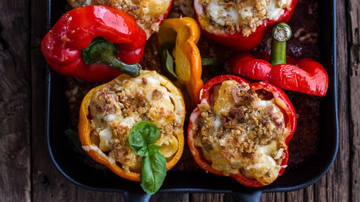 Bell peppers are one of the least exciting options in the produce aisle, but this is a wholly undeserved reputation. Sure, pe...