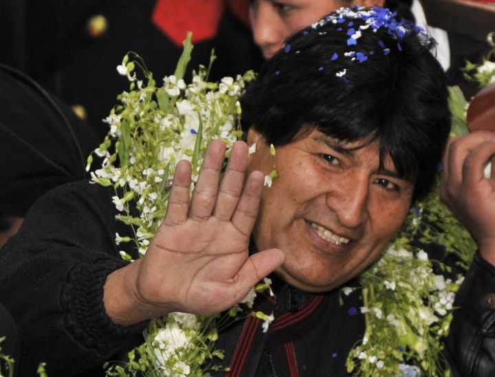Bolivian President Evo Morales, pictured here, expelled both the U.S. ambassador and the DEA from his country in 2008.