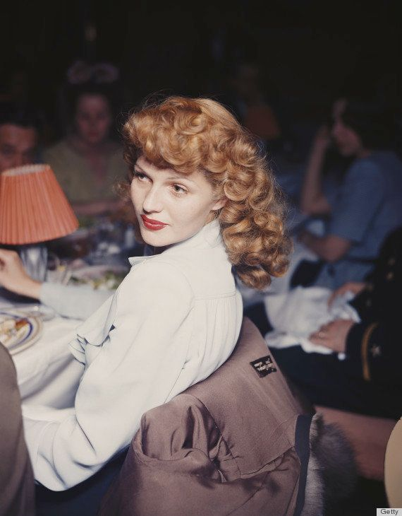 Hayworth was one of the first film sirens to turn the red lip into a signature look. Many stars would follow suit.