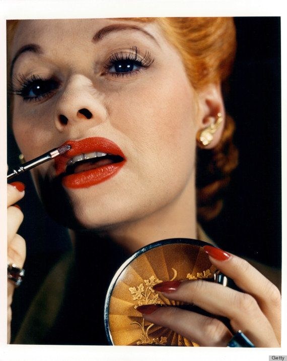 It's not only sexpots who rock the red lip. Ball proved that funny girls can add some spice to their look.