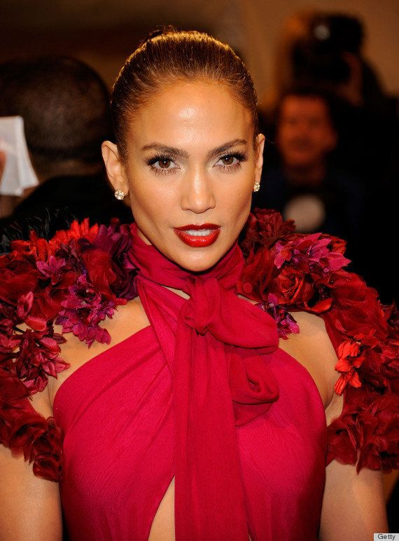 The megastar pulled out all the stops at the Met Gala with her dramatic all-red ensemble. Of course, matching deep red lips a