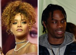 Rihanna And Travis Scott Make Out At NYFW Party