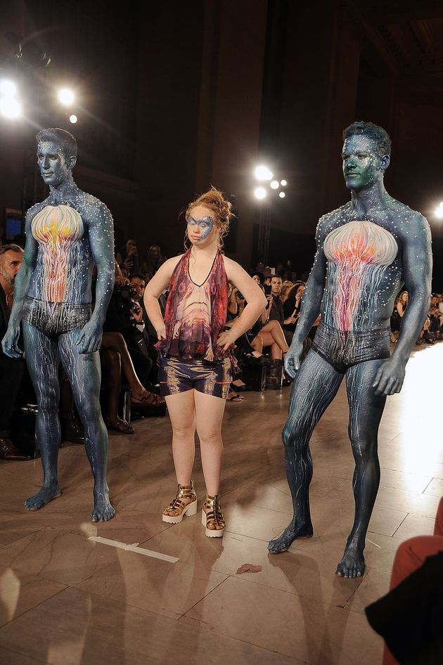 Madeline Stuart, Model With Down Syndrome, Walks In New York Fashion
