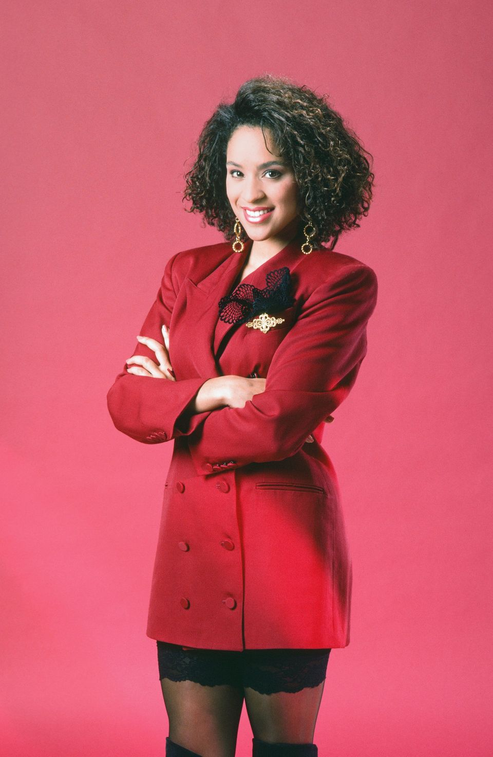 THE FRESH PRINCE OF BEL-AIR -- Season 1 -- Pictured: Karyn Parsons as Hilary Banks -- (Photo by: Gary Null/NBCU Photo Bank vi