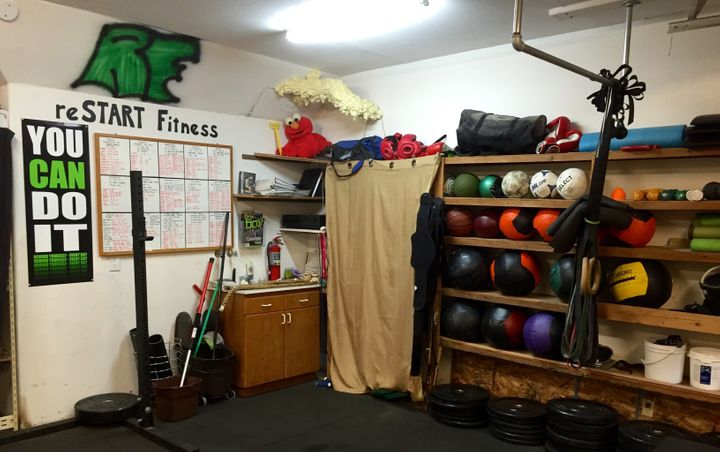 Clients credit the fitness program at reSTART with providing a significant boost to their self-esteem.