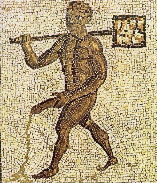 Erotic Mosaic in Timgad (ca. 100 A.D.)