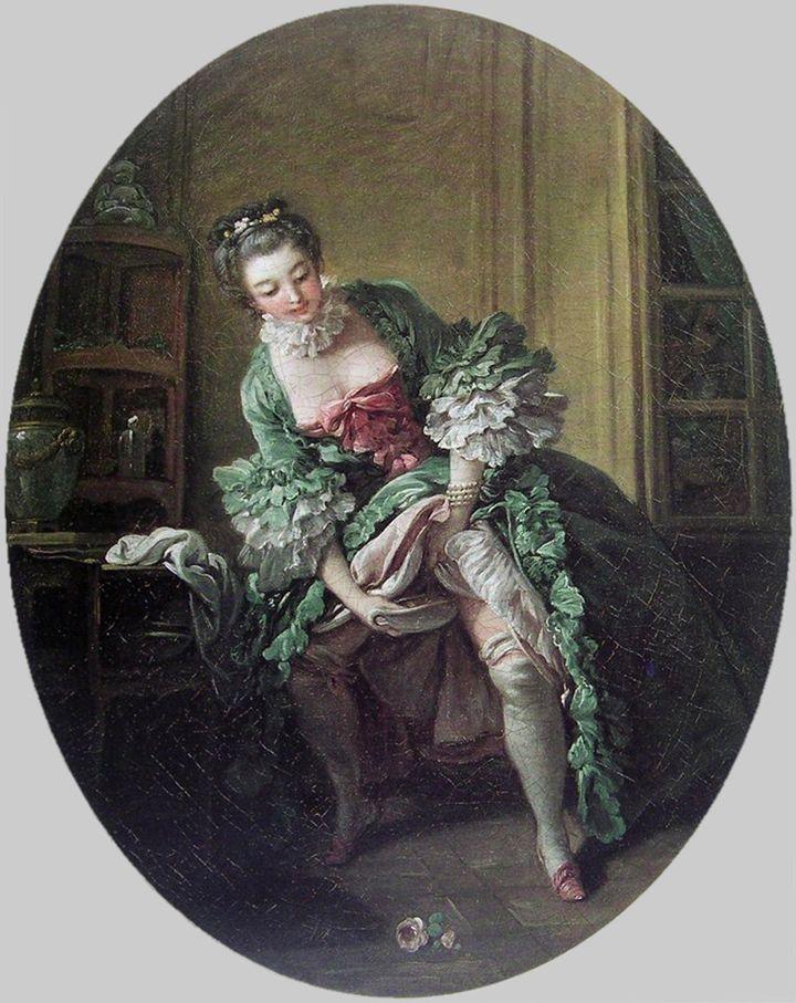 """Fransois Boucher, """"La Toilette intime,"""" 1760s"""