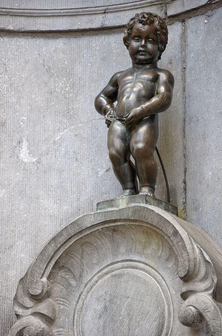 """Jerome Duquesnoy, """"Little man Pee,"""" 1388"""