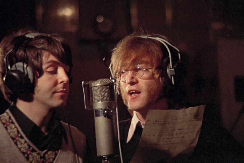 "Recording ""€˜Hey Bulldog,"" Studio 3, Abbey Road Studios, Feb. 11, 1968"