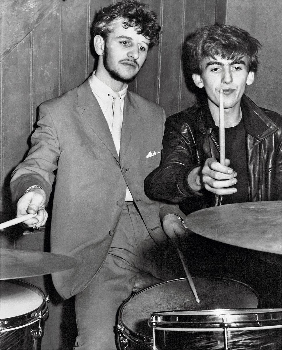 Backstage at the Big Beat, Tower Ballroom, New Brighton, 1961