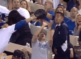 What Not To Do When You And An MLB All-Star Both Catch A Ball