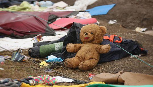 Lo que los refugiados van dejando atrás