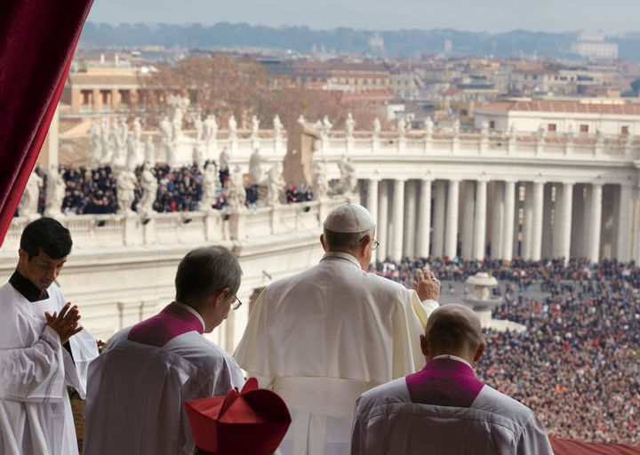 "On Christmas Day, one of the holiest days in the Christian calendar, Pope Francis delivers his 2014 ""Urbi et Orbi&"