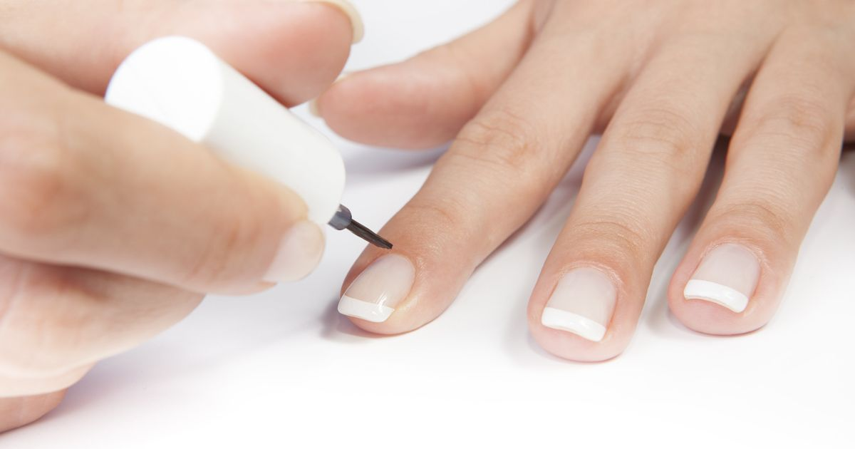 Your Own French Manicure 10