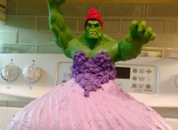 Parents Make Amazing 'Hulk Princess' Cake For 4-Year-Old Daughters
