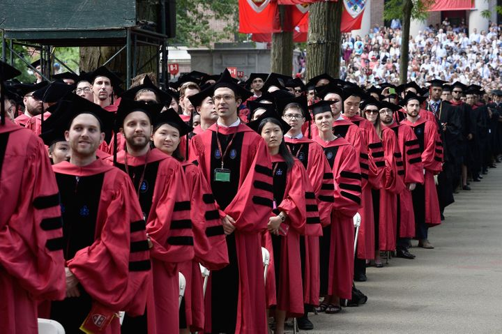 Some of these Harvard grads are going to crush their peers when it comes to income.