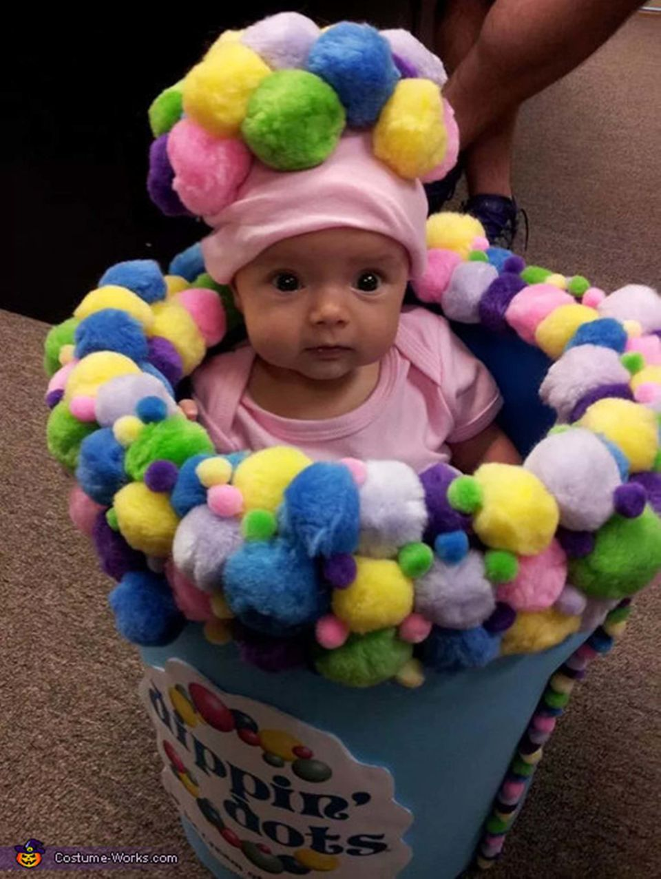 """<a href=""""http://www.costume-works.com/costumes_for_babies/dippin-dots.html"""">via Costume Works</a>"""