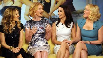 THE VIEW - The 'Sex and the City 2' cast featuring Sarah Jessica Parker, Kim Cattrall, Kristen Davis and Cynthia Nixon will be guests on 'THE VIEW,' Friday, May 28, 2010(11:00 a.m. - 12:00 noon, ET) airing on the ABC Television Network.   VW10 (Photo by Donna Svennevik/ABC via Getty Images) SARAH JESSICA PARKER,CYNTHIA NIXON,KRISTEN DAVIS,KIM CATTRALL