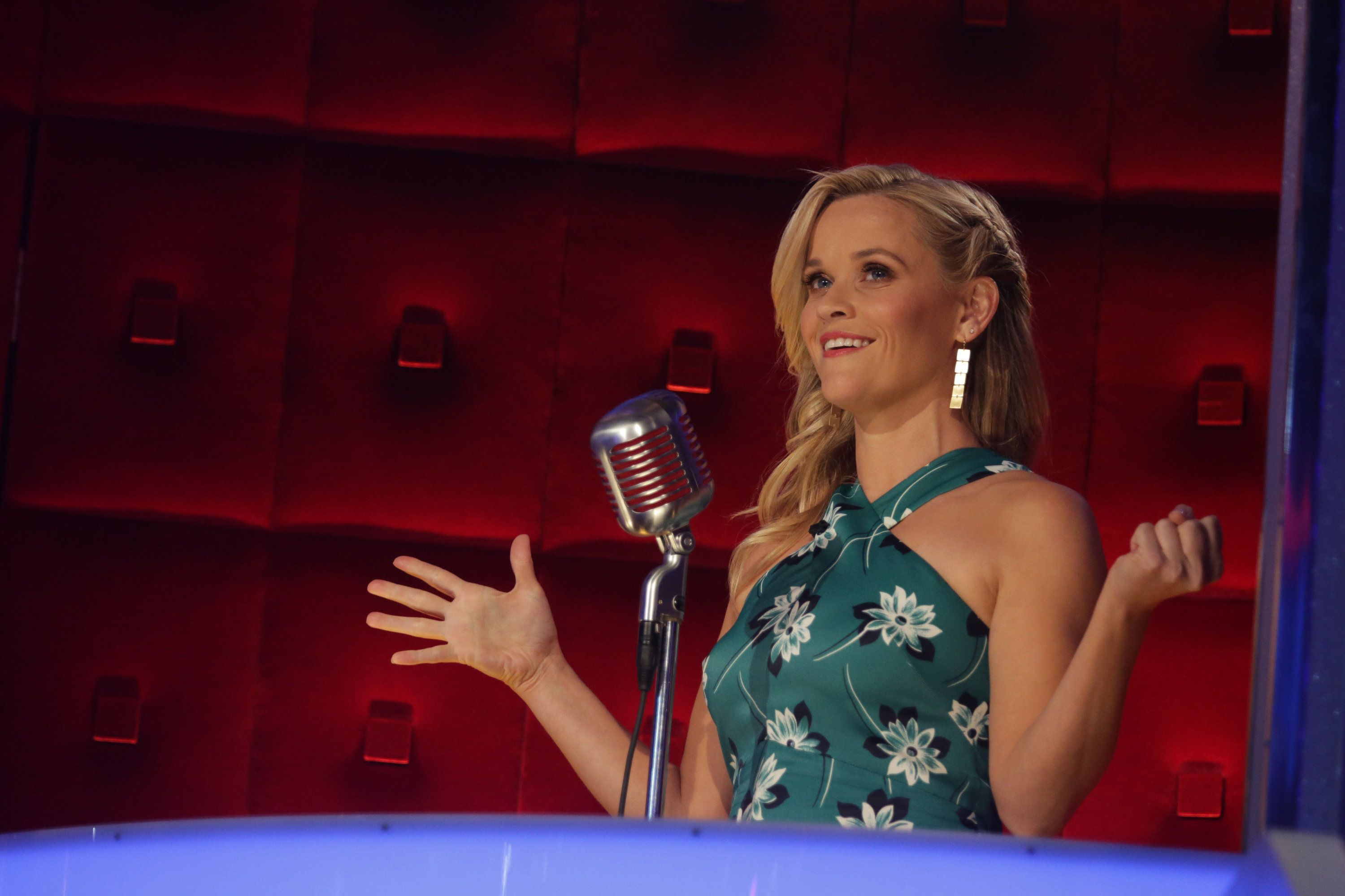 BEST TIME EVER WITH NEIL PATRICK HARRIS -- Episode 101 -- Pictured: Reese Witherspoon -- (Photo by: Greg Endries/NBC/NBCU Photo Bank via Getty Images)