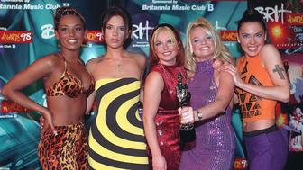 Brits Awards Ceremony, London, Britain - 1998, Spice Girls (Photo by Brian Rasic/Getty Images)