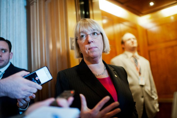Sen. Patty Murray (D-Wash.), pictured, and Rep. Bobby Scott (D-Va.), ranking members of the Senate and House committees overseeing labor relations, introduced legislation that would strengthen worker protections.