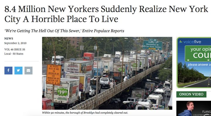 "In 2010, The Onion accidentally <a href=""When Rondae Hollis-Jefferson was traded to the Brooklyn Nets&nbsp;on the night of th"