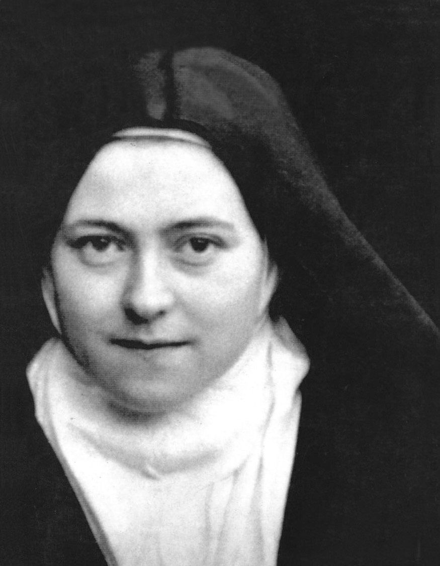 "Born in France in 1873, <a href=""http://www.vatican.va/news_services/liturgy/saints/ns_lit_doc_19101997_stherese_en.html"">Th&"