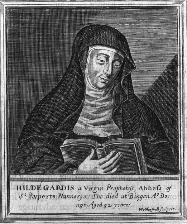 """<a href=""""http://www.christianitytoday.com/ch/1991/issue30/3031.html?start=3"""">Hildegard von Bingen</a>was a Benedictine"""