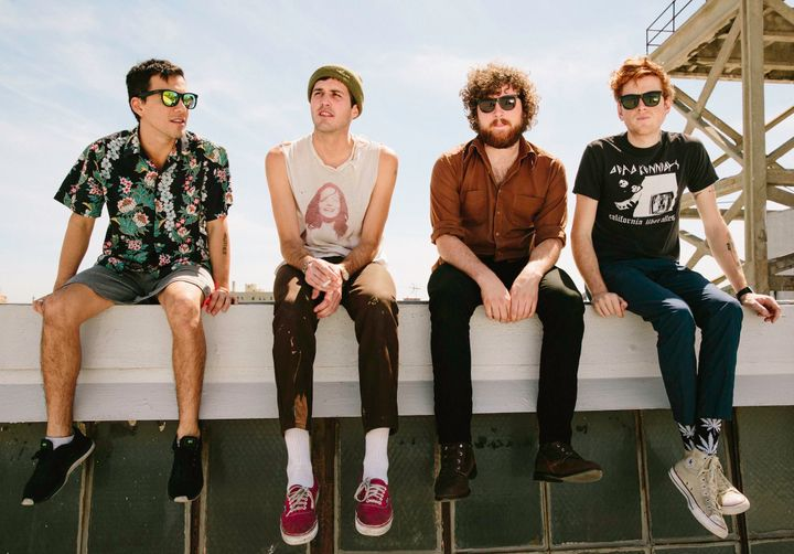 FIDLAR, a foursome, was founded in 2009.